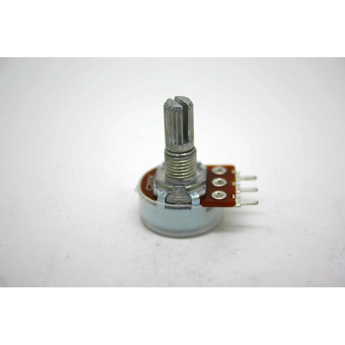 MINI POTENTIOMETER ALPHA C200K 200K 16mm REVERSE LOG PC MOUNT