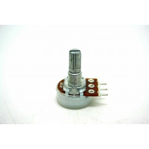 MINI POTENTIOMETER ALPHA A10K 10K 16mm LOGARITHMIC AUDIO PC MOUNT
