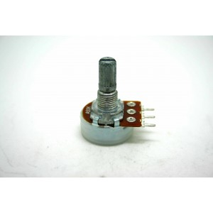 MINI POTENTIOMETER ALPHA A50K 50K 16mm LOGARITHMIC AUDIO PC MOUNT