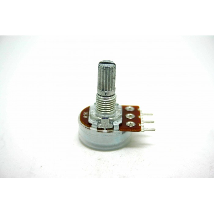 MINI POTENTIOMETER ALPHA A1K 1K 16mm LOGARITHMIC AUDIO PC MOUNT