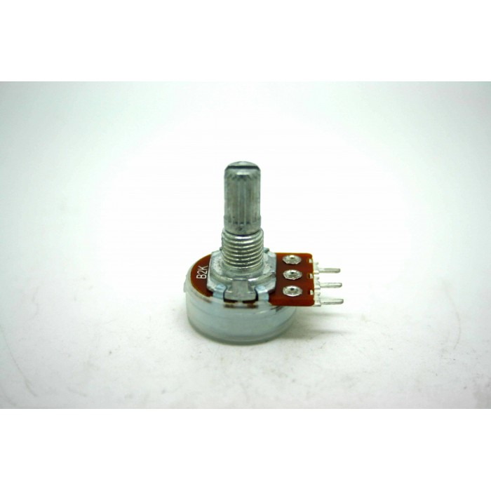 MINI POTENTIOMETER ALPHA B2K 2K 16mm LINEAR PC MOUNT