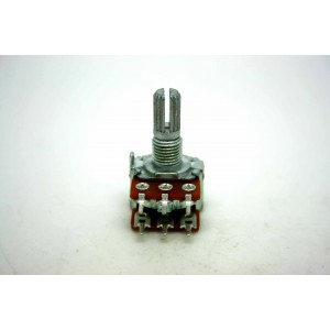MINI DUAL POTENTIOMETER ALPHA B50K 50K 16mm LINEAR PC MOUNT