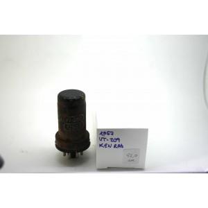KEN RAD 12SG7 VT209 CV694 VACUUM TUBE WITH EXTERNAL OXIDE HICKOK TV-7D / U TEST