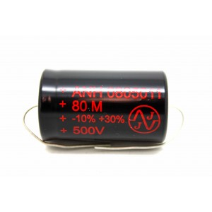 JJ 80uF 500V CAPACITOR FOR AMPLIFIER FENDER MARSHALL VOX HIWATT TUBE AMP