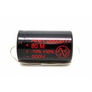 JJ 80uF 500V CAPACITOR FOR AMPLIFIER FENDER MARSHALL VOX HIWATT TUBE AMP