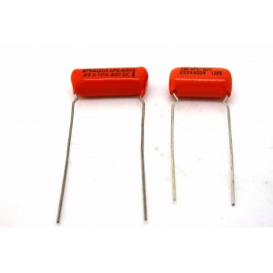 FENDER JAZZMASTER CAPACITORS KIT - SPRAGUE ORANGE DROP