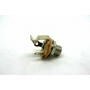 SWITCHCRAFT CHROME JACK LONG THREAD, SHORT GROUND FOR OLD GIBSON SG 60s