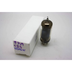 CBS 5749 CV454 CV4009 6BA6W VACUUM TUBE USED HICKOK TV-7D/U TEST