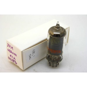 USED RCA 5749 CV454 CV4009 6BA6W VACUUM TUBE USED HICKOK TV-7D/U TEST
