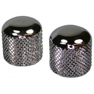GENUINE FENDER VINTAGE STYLE BARREL CHROME DOME KNOBS FOR TELECASTER 0992056000