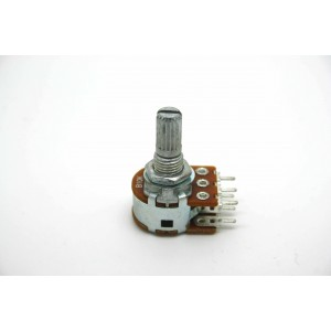 MINI DUAL POTENTIOMETER ALPHA B10K 10K 16mm LINEAR PC MOUNT