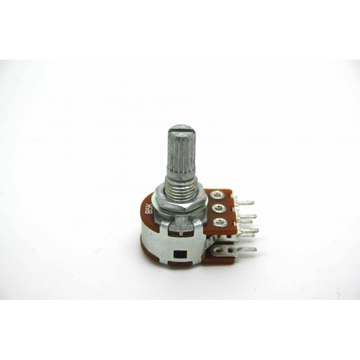 MINI DUAL POTENTIOMETER ALPHA B5K 5K 16mm LINEAR PC MOUNT