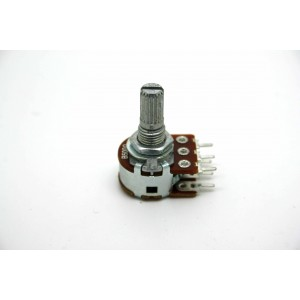MINI DUAL POTENTIOMETER ALPHA B500Ω 500 OHM 16mm LINEAR PC MOUNT