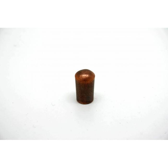 SCHALLER SWITCH CAP TOGGLE TIP KNOB VINTAGE COPPER CHROME FOR GIBSON OR EPIPHONE