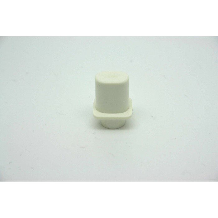 WHITE KNOB TOP HAT STYLE FOR FENDER TELECASTER - FIT CRL OR OAK GRIGSBY USA