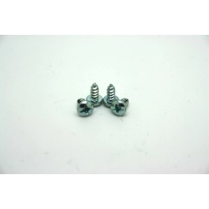 4x CHROME SCREWS FOR BOSS - ELECTRO HARMONIX AND IBANEZ