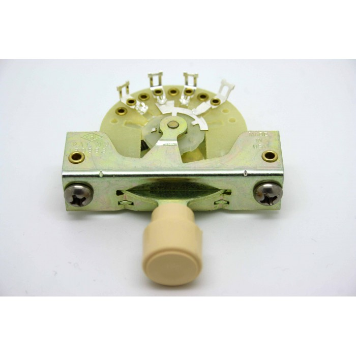 CRL 5-WAY PICKUP SELECTOR SWITCH WITH CREAM KNOB BARREL