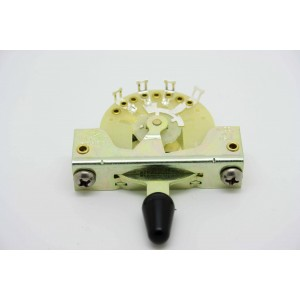 CRL 5-WAY PICKUP SELECTOR SWITCH WITH BLACK TIP KNOB
