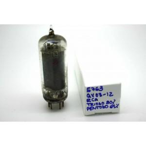 RCA 5763/QV03-12 6062 CV2129 VACUUM TUBE - MICROTRACER TEST!