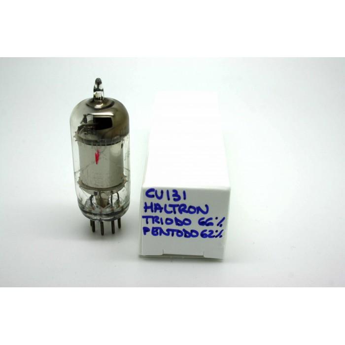 HALTRON CV131 EF92 9D6 VACUUM TUBE - MICROTRACER TEST!