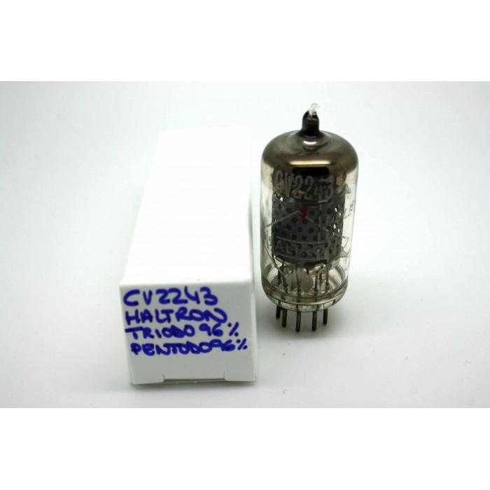 HALTRON CV2243 5A/206K PSG8 VACUUM TUBE - MICROTRACER TEST!