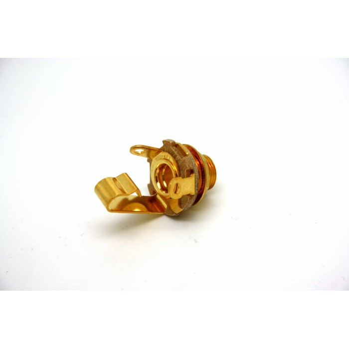 """GENUINE SWITCHCRAFT 6.35mm 1/4"""" JACK TYPE 11 MONO - GOLD PLATE CONTACTS!"""