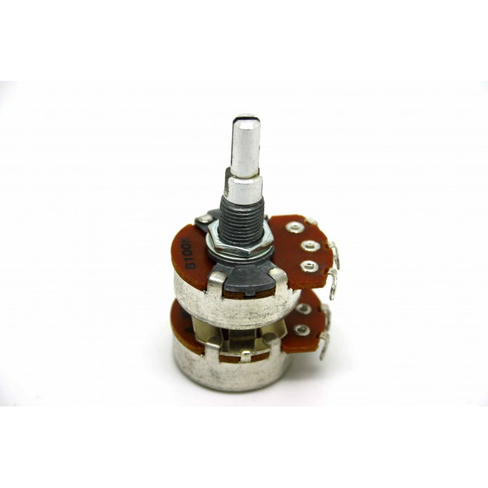 DANELECTRO POTENTIOMETER POT A1M/B100K CONCENTRIC STACKED - 1M/100K