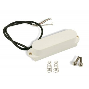 KENT ARMSTRONG DUAL BLADES - HUM CANCELING STRAT COOL - WHITE CLOSED COVER CERAMIC / DC 7K