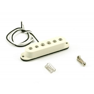 KENT ARMSTRONG CLASSIC SINGLE - VINTAGE STRAT PICKUP - WEISSE ABDECKUNG