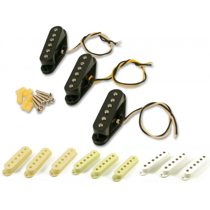 RORY GALLAGHER 1958 STRAT REPLACEMENT PICKUP SET - ALNICO 3