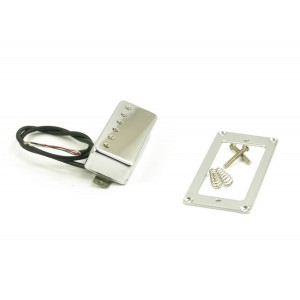 KENT ARMSTRONG DELUXE 6 - MINI HUMBUCKER PICKUP ALNICO WITH ADJUSTABLE POLEPIECES - CHROME