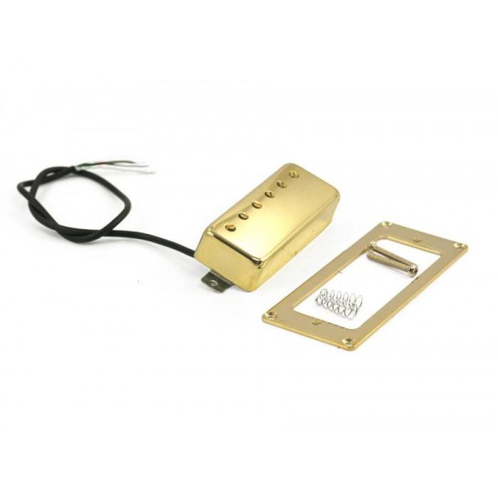 KENT ARMSTRONG DELUXE 6 - MINI HUMBUCKER PICKUP ALNICO WITH ADJUSTABLE POLEPIECES - GOLD