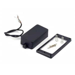 KENT ARMSTRONG GRINDER - SUPER HIGH OUTPUT HUMBUCKER - BLACK CLOSED