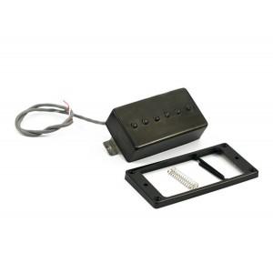 KENT ARMSTRONG CONVERTIBLE - P90 (HUMBUCKER RETROFIT) - BLACK PLASTIC COVER RW/RP