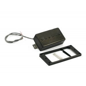 KENT ARMSTRONG® CONVERTIBLE - P90 (HUMBUCKER RETROFIT) - BLACK PLASTIC COVER RW / RP