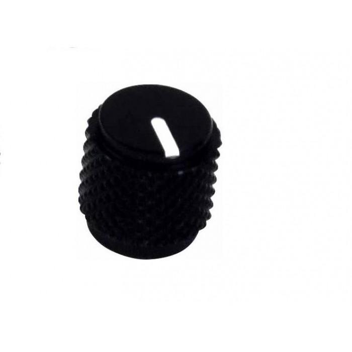 ORIGINAL DUNLOP SMALL KNOB ALUMINUM FOR MXR PEDALS - ECB067 PUSH ON
