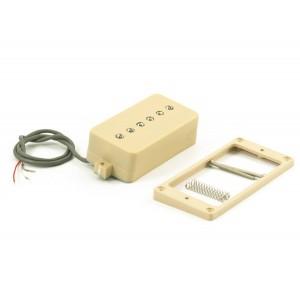 KENT ARMSTRONG CONVERTIBLE - P90 (HUMBUCKER RETROFIT) - CREAM PLASTIC COVER RW / RP