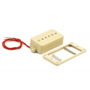 KENT ARMSTRONG CONVERTIBLE - P90 (HUMBUCKER RETROFIT) - CREAM PLASTIC COVER RW/RP