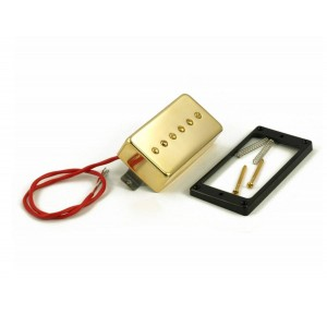 KENT ARMSTRONG CONVERTIBLE - P90 (HUMBUCKER RETROFIT) - GOLD METAL COVER RW/RP