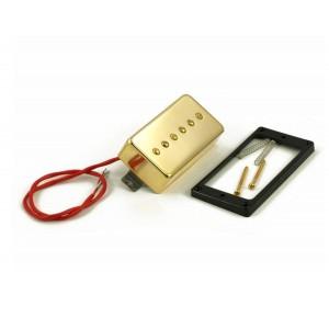 KENT ARMSTRONG CONVERTIBLE - P90 (HUMBUCKER RETROFIT) - GOLD METAL COVER RW/RP