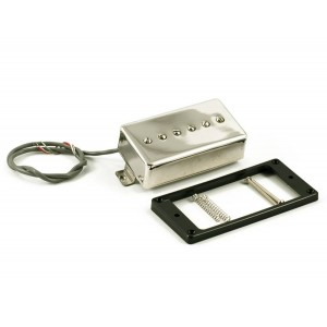 KENT ARMSTRONG CONVERTIBLE - P90 (HUMBUCKER RETROFIT) - NICKEL METAL COVER RW/RP