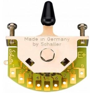 MEGASWITCH SCHALLER MODEL E + 5 WAY FOR GUITAR