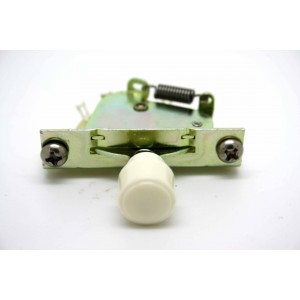 CRL 3-WAY PICKUP SELECTOR SWITCH WITH WHITE KNOB BARREL