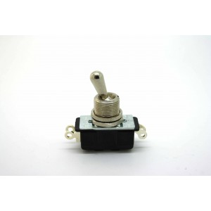 CARLING DPST TOGGLE SWITCH 2 POSITION ON-OFF 4 SOLDER LUGS PIN