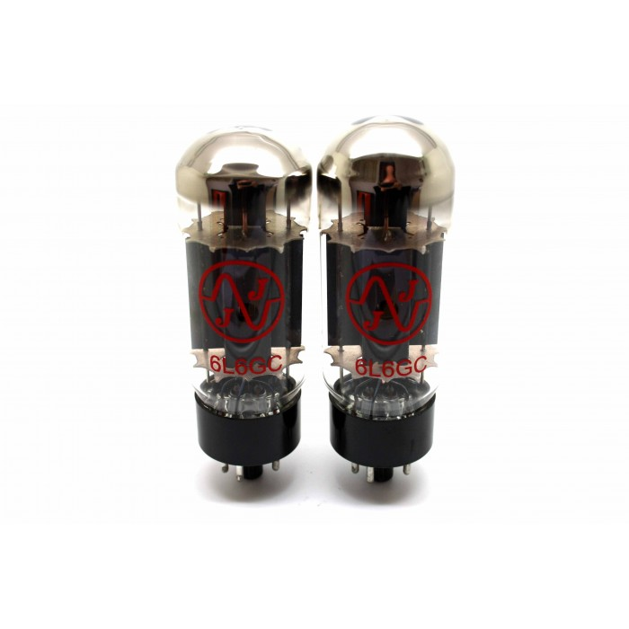 JJ 6L6GC 6L6 MATCHED PAIR VACUUM TUBES AMP TESTED