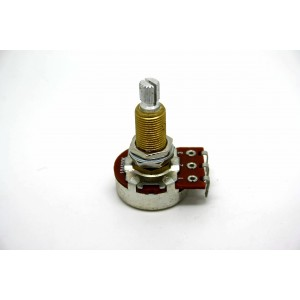 BOURNS A500K 500K LOGARITHMIC AUDIO TAPER LONG SHAFT POTENTIOMETER