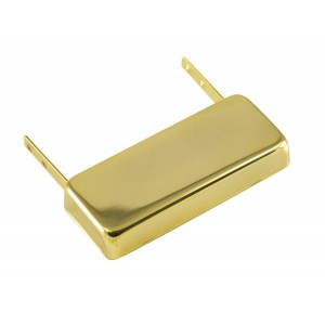KENT ARMSTRONG SMOOTH SAM - JAZZ PICKUP - NECK MOUNT GOLD