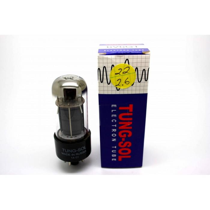 TUNG-SOL 6V6GT 6V6 VACUUM TUBE TESTED!