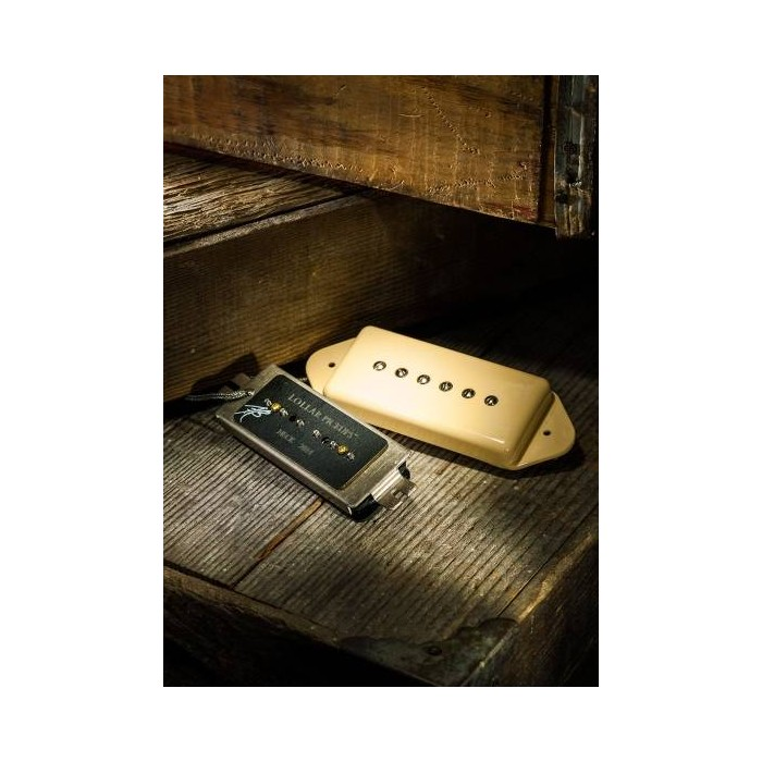 LOLLAR PICKUPS DOG EAR STYLE PICKUP HALS-MITTELBRÜCKE