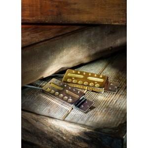 LOLLAR PICKUPS - GOLD FOIL P/G MATCHING SET 2 PICKUPS